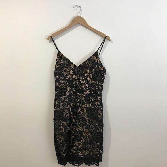 Express Dresses & Skirts - Black Lace Express Dress